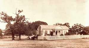 Carver Homestead in the late 1800's