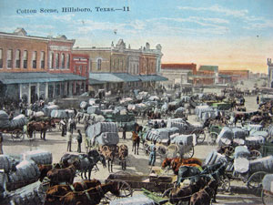 Hillsboro Courthouse Square, 1905