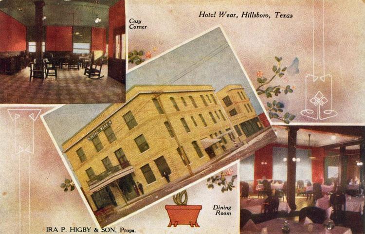 Hotel Wear Hillsboro Texas
