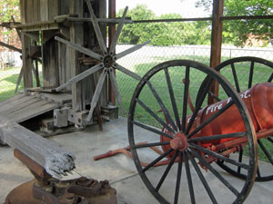 Fire Hose Reel Cart and Manual Cotton Compress